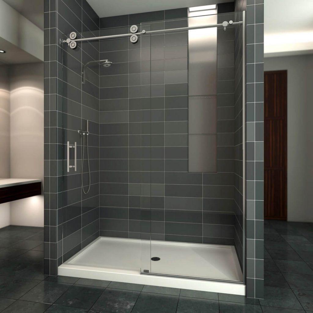 Semi Euro Showers Dixon Mirror And Glass
